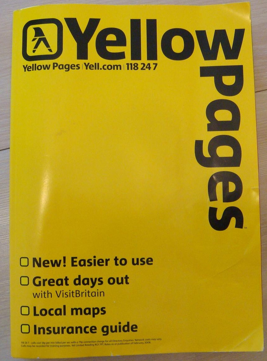 White and Yellow Pages America  waypcom